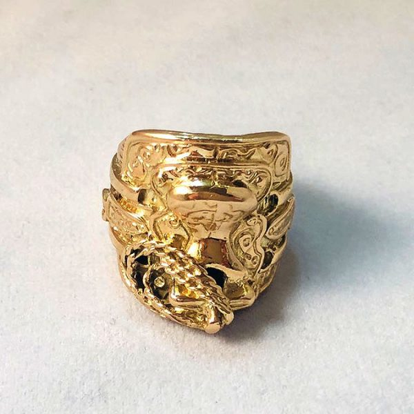 9 Ct Gold Saddle Ring