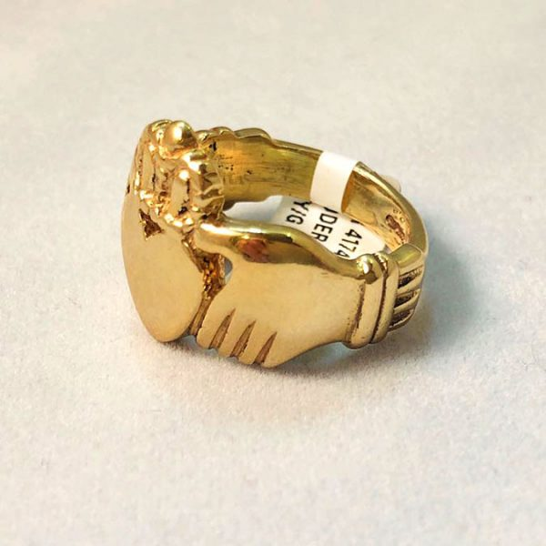 9 Ct Gold Claddagh Ring