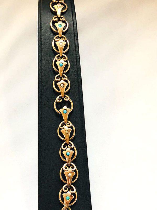 9ct Rose Gold Bracelet