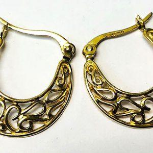 9 Ct Gold Hoop Earring