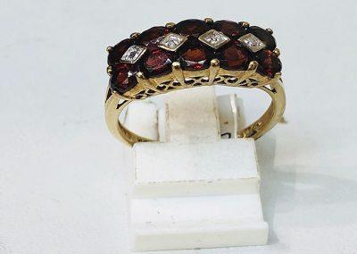 9 Ct Ruby Ring