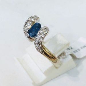 Sapphire and Diamond Ring 2