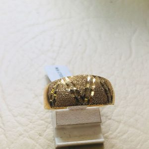 14ct Yellow Gold Designer Ring