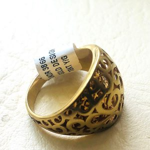 18ct Yellow Gold Design Ring